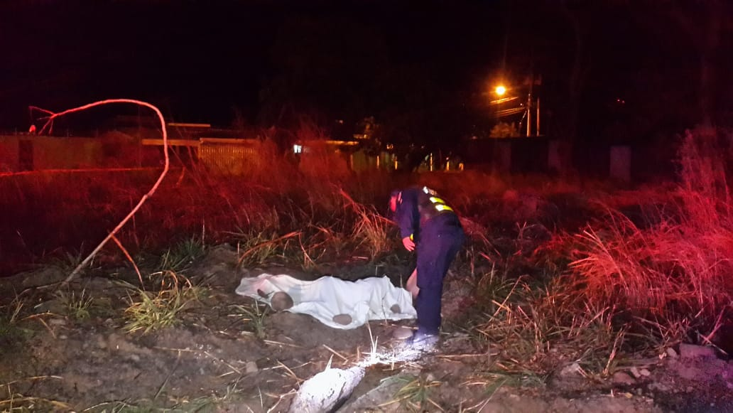 Photo of En lote baldío a la par del colegio técnico asesinan a hombre a Balazos