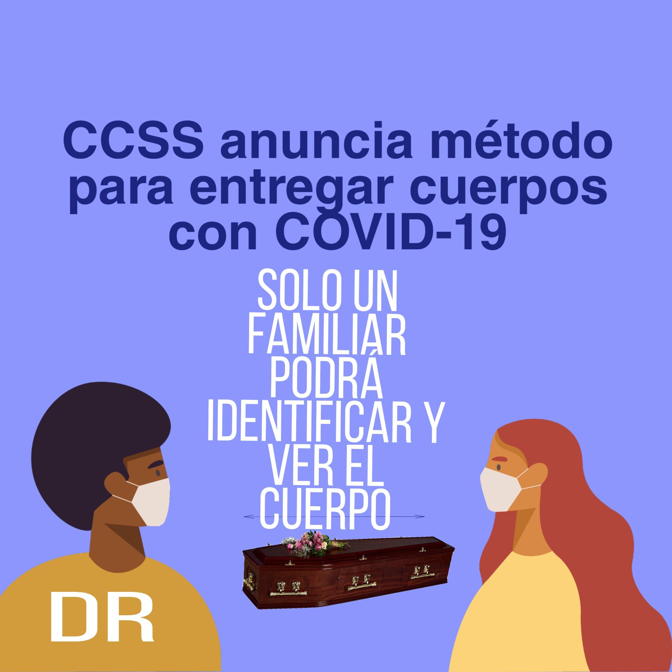 Photo of Caja anuncia el proceso de identificación de cuerpos cuando un paciente fallece por COVID-19