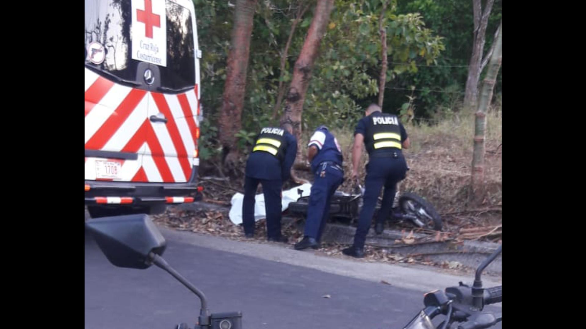 Photo of Joven fallece al accidentarse en motocicleta