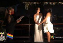 Photo of Alexandra Quirós Castillo, de 29 años y Daritza Araya Arguedas, de 24 años, se convirtieron en la primera pareja del mismo sexo en casarse civilmente