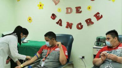 Photo of Banco de Sangre del Hospital Monseñor Sanabria recibió a voluntarios de la Cruz Roja Costarricense