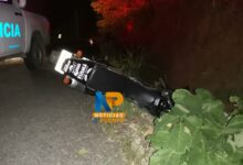 Photo of Oficial de la fuerza pública fallece en accidente en moto