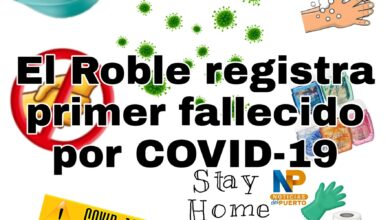 Photo of El Roble registra primer fallecido por COVID-19 como Cantón lleva 4 fallecidos
